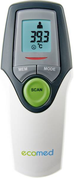 Thermomètre médical infrarouge Medisana TM 65-E - tempe, front