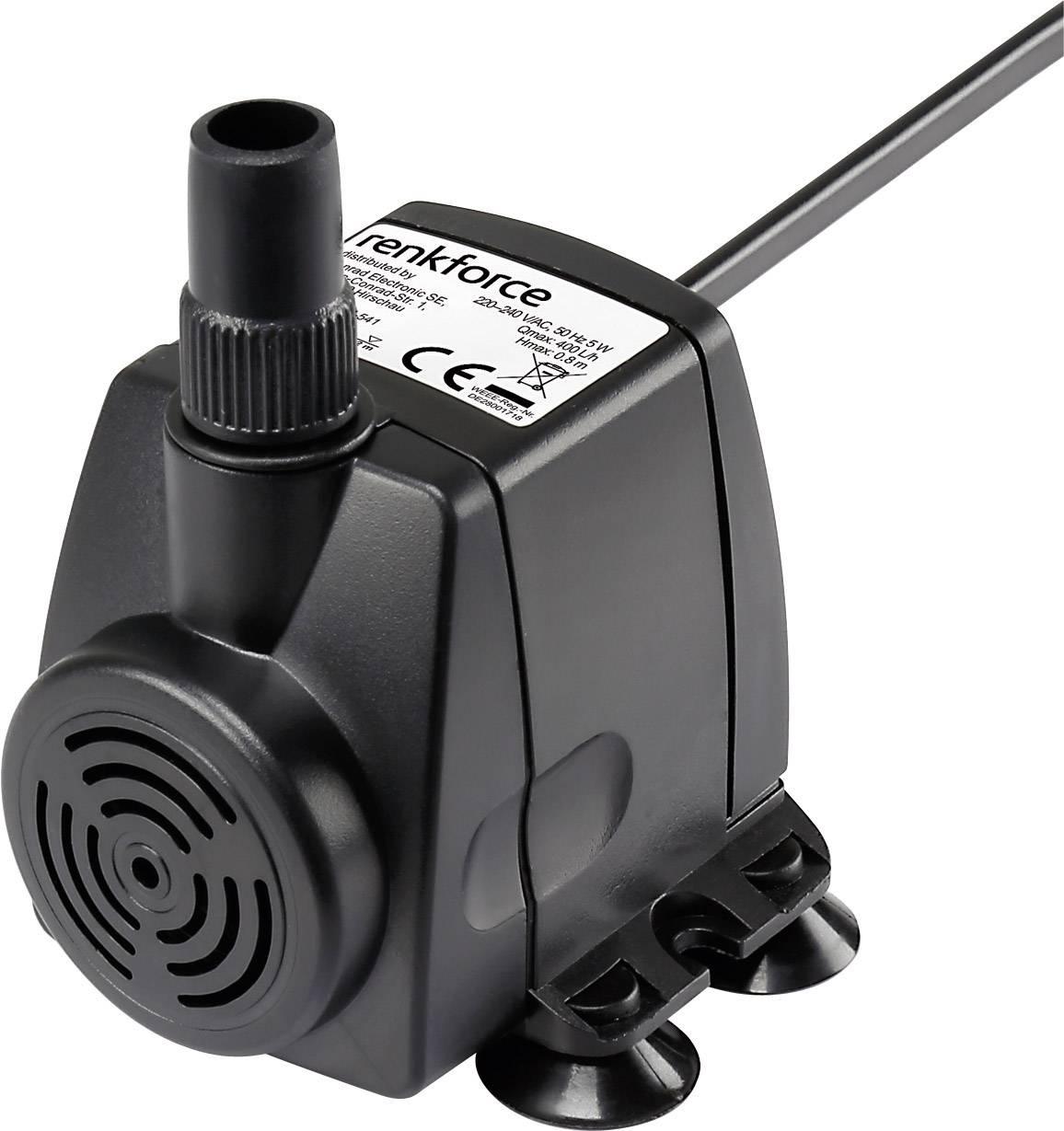 Pompe Pour Fontaire Du0027intérieur 400 L/h Renkforce 5W 1168660 0.8 M