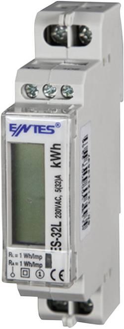 Compteur d'énergie monophasé numérique 32 A ENTES 101513 conformité MID: oui 1 pc(s)