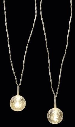 Guirlande lumineuse à motifs pour l'intérieur Polarlite LBA-01-001 Ampoule LED blanc chaud football 1 pc(s)
