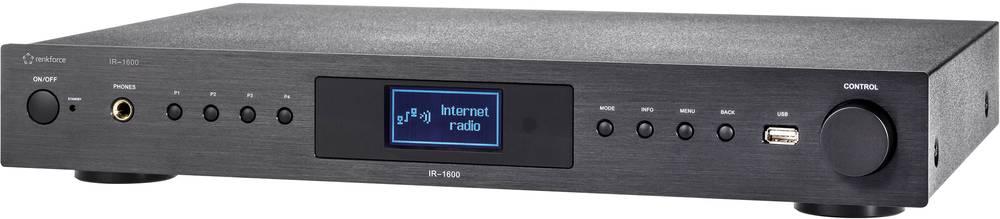 Tuner Hi Fi Pour Radio Internet Renkforce Ir 1600 Noir Wifi Conrad Fr