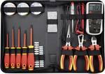 Set d'outils VDE pour électricien 50 pcs Toolcraft