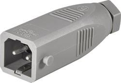 Connecteur d'alimentation Hirschmann STAS 2 930620106 mâle, droit Nbr total de pôles: 2 + PE 16 A gris 1 pc(s)