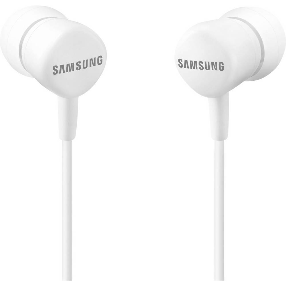 ecouteurs intra auriculaires samsung eo hs1303 volume r glable micro casque blanc. Black Bedroom Furniture Sets. Home Design Ideas