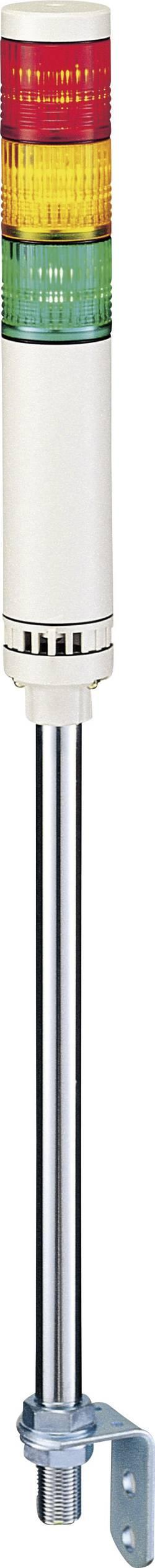 Elément de colonne de signalisation Patlite LCE-302W-RYG 24 V/DC 24 V/AC lumière permanente rouge, jaune, vert IP65 1 pc