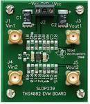 Carte d'évaluation à amplification à haute vitesse 175 MHz THS4082