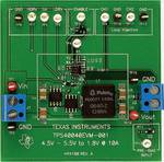 Module d'évaluation pour convertisseur Buck synchrone 10 A avec entrée 12 V et sortie 1,8 V