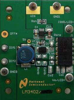 Carte de développement Texas Instruments LM3402EVAL/NOPB 1 pc(s)