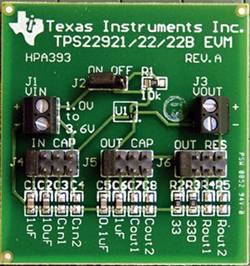 Carte de développement Texas Instruments TPS22921EVM 1 pc(s)