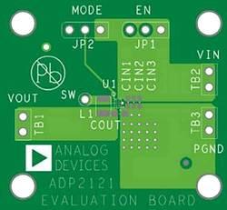 Carte de développement Analog Devices ADP2121-1.85-EVALZ 1 pc(s)