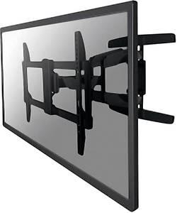 "Support mural TV NewStar NM-W475BLACK 81,3 cm (32"") - 165,1 cm (65"") inclinable + pivotable noir"