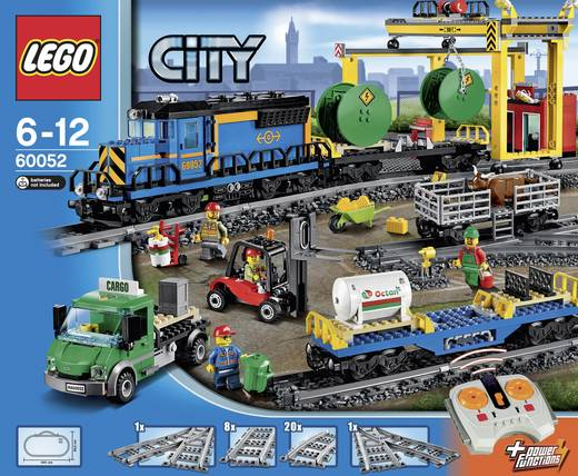 train de marchandises lego city 60052 nombre de lego pi ces 887. Black Bedroom Furniture Sets. Home Design Ideas