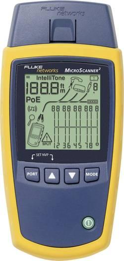 Testeur de câbles Microscanner², appareil pour le test de câbles, testeur de câbles Fluke Networks MS2-100