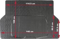 Tapis de coffre auto 108 cm x 140 cm Dino noir