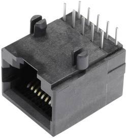 Embase femelle modulaire non blindée embase femelle horizontale BEL Stewart Connectors SS64100-018F Pôle: 10P10C noir 1