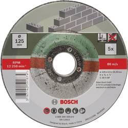 Set de disques à tronçonner à moyeu déporté pour la pierre, 5 pcs Bosch 2609256335