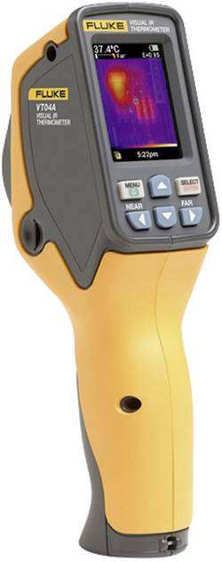 Thermomètre infrarouge visuel VT04A Etalonné selon DAkkS Fluke VT04A 4485211