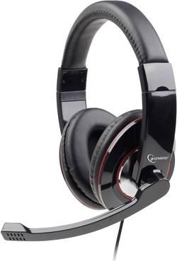 Micro-casque PC circum-aural filaire, stéréo Gembird MHS-001 noir
