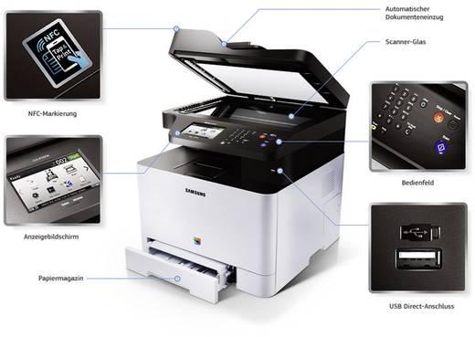 imprimante multifonction couleur laser a4 samsung xpress c1860fw. Black Bedroom Furniture Sets. Home Design Ideas