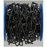 Chaîne décorative acier noir 5 m