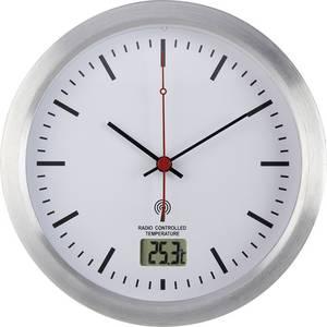 Horloge murale Renkforce E1003R E1003R 17 cm x 6 cm argent ...