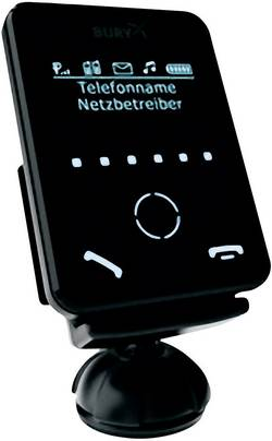 Dispositif mains-libres Bluetooth à encastrer Bury CC9058 avec écran OLED