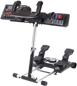 Support pour volant Wheel Stand Pro pour système Saitek Pro Flight Yoke, volant Logitech G25, volant Logitech G27, Thru