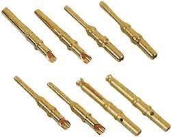 Contact femelle à sertir MH Connectors MHDM-CTF AWG mini: 28 - AWG maxi: 24 laiton 1 pc(s)