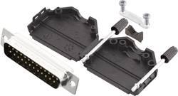 Kit SUB-D mâle 25 pôles MH Connectors MHDPPK25-DB25P-K 180 ° fût à souder 1 pc(s)