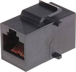 Prolongateur RJ45 MH Connectors MH3101-CAT6 2101-0115-05 noir Conditionnement: 1 pc(s)