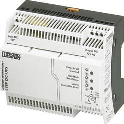 Onduleur (UPS) industriel - Installation (rail DIN) Phoenix Contact STEP-UPS/12DC/12DC/4