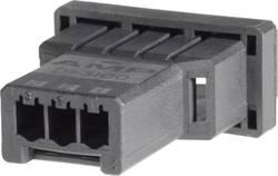Boîtier pour contacts mâles série DYNAMIC 3000 Series TE Connectivity 1-177648-3 mâle, droit Nbr total de pôles 3 Pas: 3