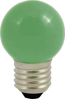 LED LightMe LM85252 230 V E27 0.5 W vert en forme de goutte (Ø x L) 45 mm x 70 mm 1 pc(s)