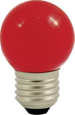 LED LightMe LM85254 230 V E27 1 W rouge en forme de goutte (Ø x L) 45 mm x 70 mm 1 pc(s)