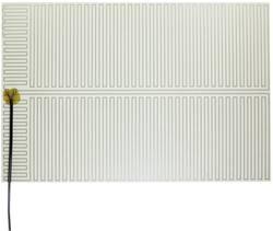 Feuille chauffante Thermo 2145422 autocollant 230 V/AC 180 W Indice de protection IPX4 (L x l) 525 mm x 350 mm 1 pc(s)