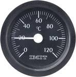 Thermomètre à capillaire à encastrer (grand modèle)