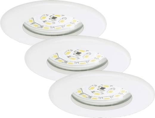 Spot encastrable led pour salle de bain led int gr e briloner 7204 036 blanc chaud 15 w blanc - Spot led pour salle de bain ...