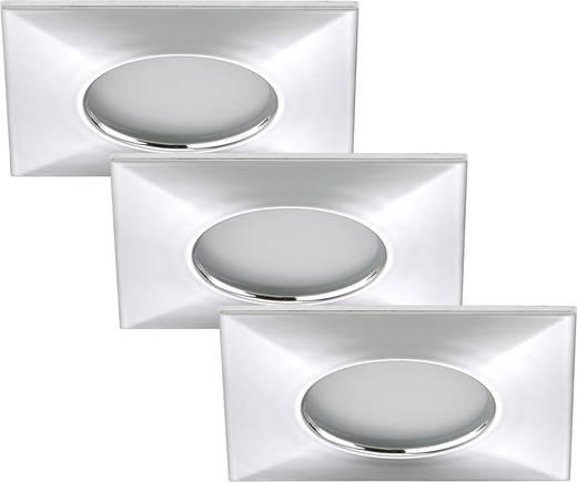 spot encastrable led pour salle de bain led int gr e briloner 7205 038 blanc chaud 15 w chrome. Black Bedroom Furniture Sets. Home Design Ideas