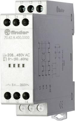 Relais de contrôle de tension triphasée coupure 250 V/AC/Max. 400 V/AC - 8 A Finder 70.62.8.400.0000