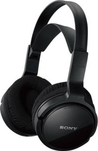 casque sans fil circum aural sony mdr rf811rk volume r glable noir. Black Bedroom Furniture Sets. Home Design Ideas