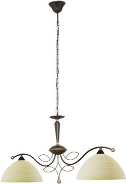 Suspension EGLO BELUGA E27 120 W champagne, marron antique