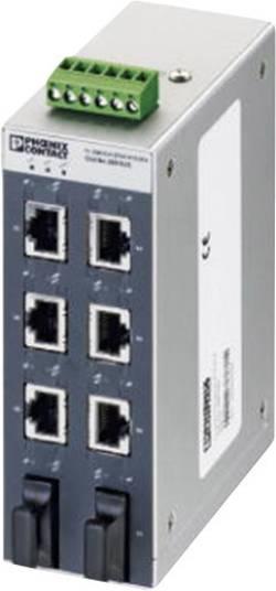 Commutateur Ethernet industriel Phoenix Contact 2891025 10 / 100 Mo/s 1 pc(s)
