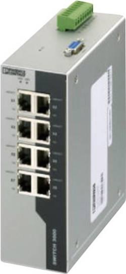 Switch Ethernet industriel Phoenix Contact FL SWITCH 3008 2891031 24 V/DC Ports Ethernet 8 1 pc(s)