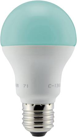 Renkforce LED E27 forme standard 4.8 W RVB (Ø x L) 60 mm x 110 mm EEC: n/a à couleur changeante, fonction double clic 1