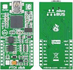 Carte d'extension MikroElektronika MIKROE-1421 1 pc(s)