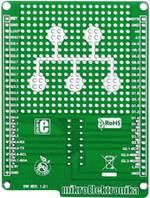 Platine (non équipée) MikroElektronika MIKROE-1154 1 pc(s)