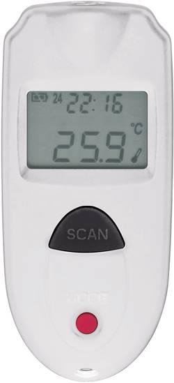 Thermomètre infrarouge IR 110-1S Etalonné selon DAkkS VOLTCRAFT IR 110-1S IR 110-1S