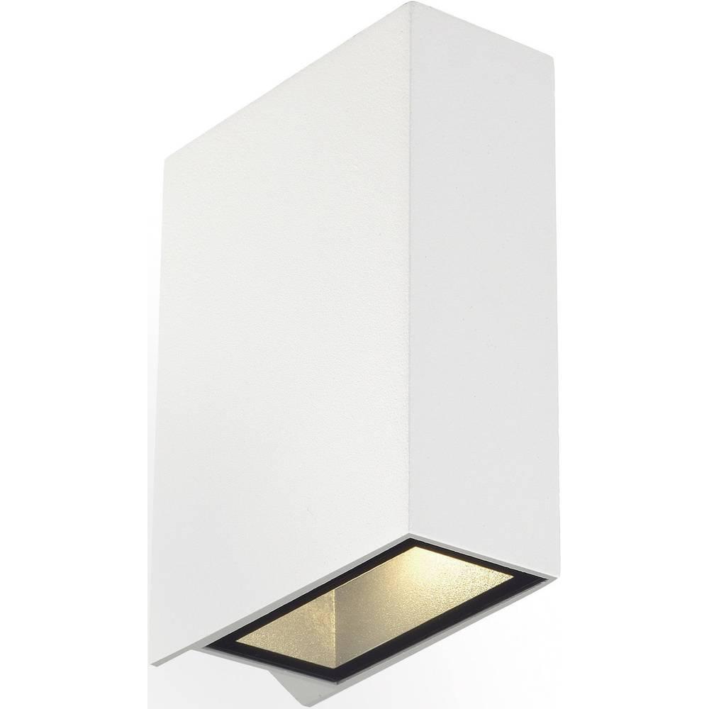applique murale led ext rieure slv quad 2 232471 led int gr e blanc sur le site internet conrad. Black Bedroom Furniture Sets. Home Design Ideas