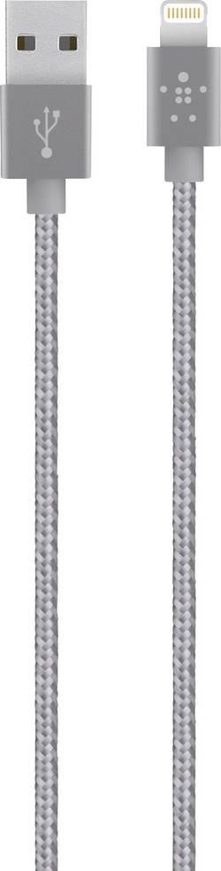 Câble de données/Câble de charge Belkin iPad/iPhone/iPod [1x USB 2.0 type A mâle - 1x Dock Apple mâle Lightning] 1.2 m g