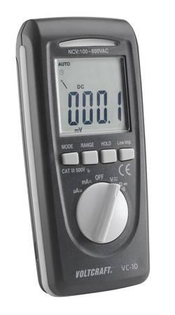 Multimètre numérique VOLTCRAFT VC-10 CAT III 600 V Affichage (nombre de points):4000